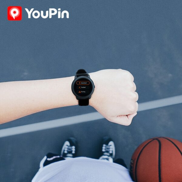 YouPin Haylou Solar LS05 Smart Watch Sport Metal Heart Rate Sleep Monitor IP68 Waterproof iOS Android Global Version for Xiaomi